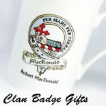 Personalised Scottish Clan Badge and Irish Sept Gifts